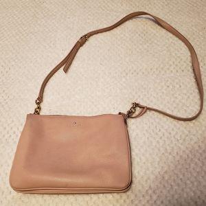 Pink Kate Spade crossbody purse